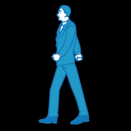 営業の男性イラスト(外回り3)